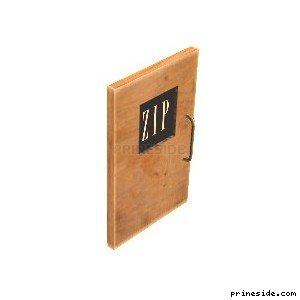 Двери с логотипом (CJ_GAP_DOOR_) [2875] на светлом фоне