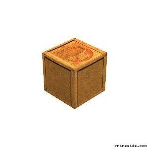 Деревянный ящик (фанера, двп) (temp_crate1) [2912] на светлом фоне