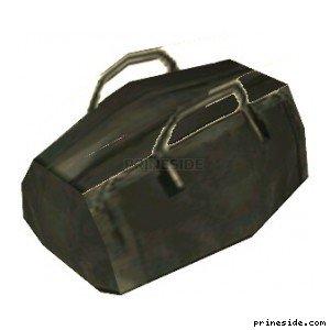 Black bag (kmb_holdall) [2919] on the light background
