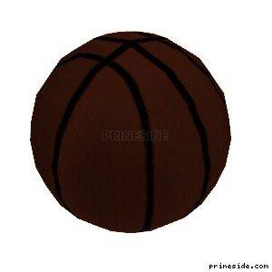 Basketball ball (BBALL_col) [3065] on the light background