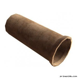 A large concrete pipe (vgsN_con_tube) [3502] on the light background