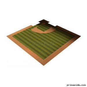 Baseball field (vegasstadgrnd) [7416] on the light background