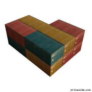Complex containers (vgsfrates08) [8335] on the light background