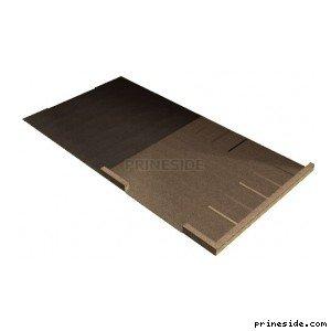 Flat concrete pad with Parking (vgshpgrnd04_lvS) [8418] on the light background