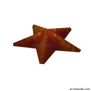 Морская звезда (Starfish) [902] на светлом фоне