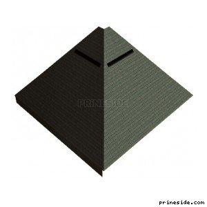 The building in the form of a pyramid (vgEpyrmd_nt) [9104] on the light background