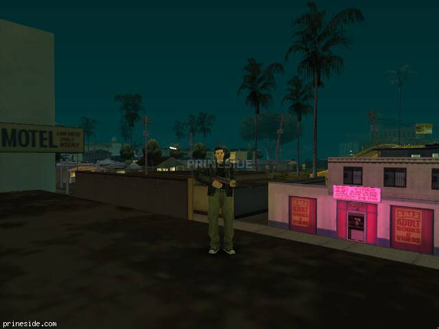 GTA San Andreas weather ID 512 at 0 hours