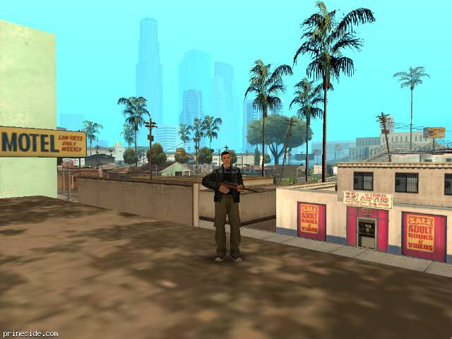 GTA San Andreas weather ID 256 at 10 hours