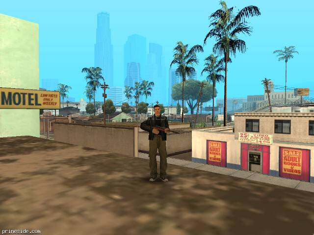 GTA San Andreas weather ID -256 at 11 hours