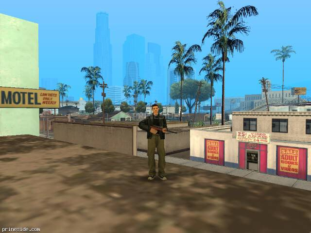 GTA San Andreas weather ID 512 at 16 hours