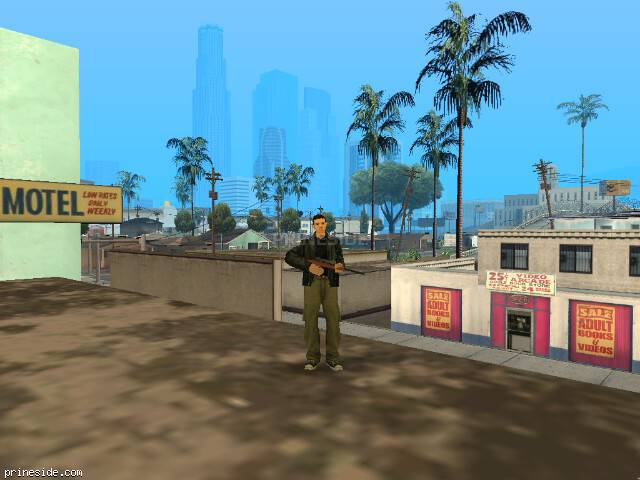 GTA San Andreas weather ID 0 at 18 hours