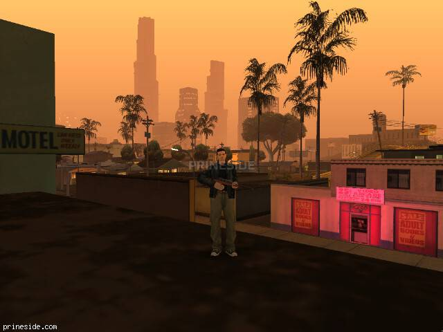 GTA San Andreas weather ID 0 at 21 hours