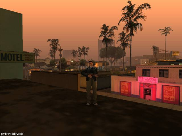 GTA San Andreas weather ID 512 at 22 hours
