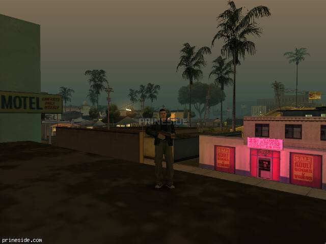 GTA San Andreas weather ID 512 at 23 hours