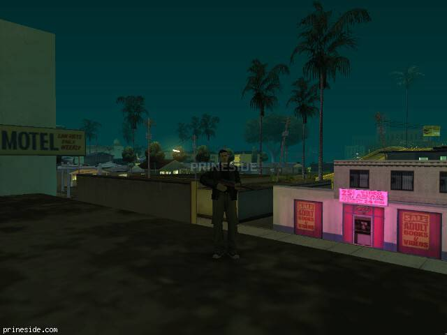 GTA San Andreas weather ID -256 at 5 hours