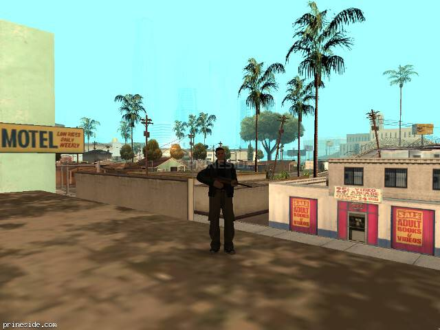 GTA San Andreas weather ID 0 at 7 hours