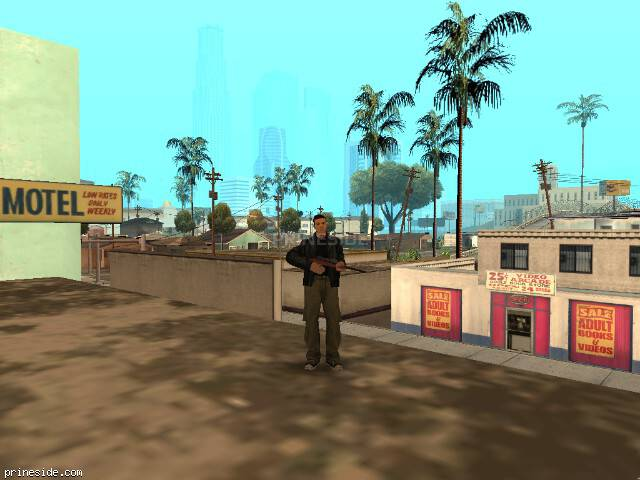 GTA San Andreas weather ID -256 at 9 hours