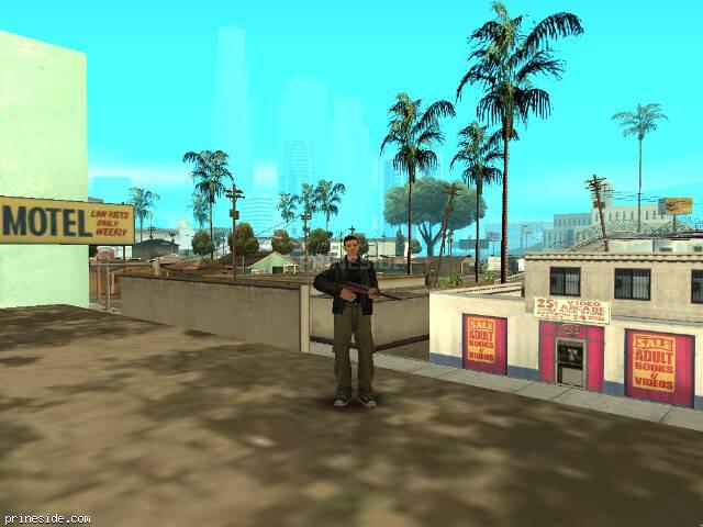 Просмотр погоды GTA San Andreas с ID 1 в 11 часов