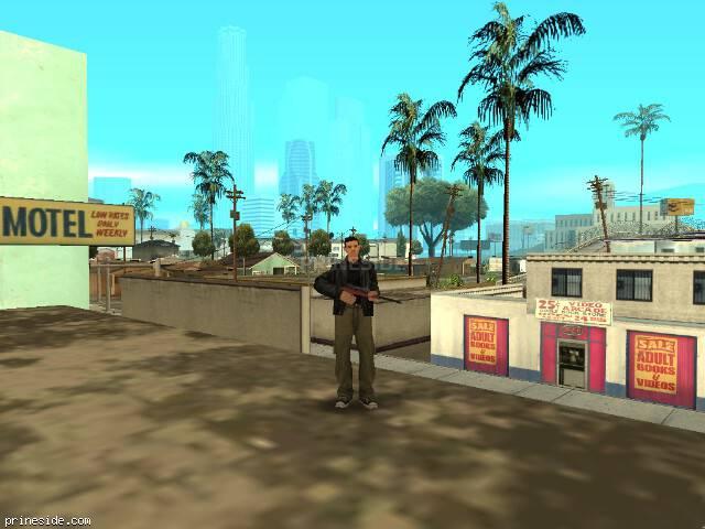Просмотр погоды GTA San Andreas с ID 257 в 15 часов