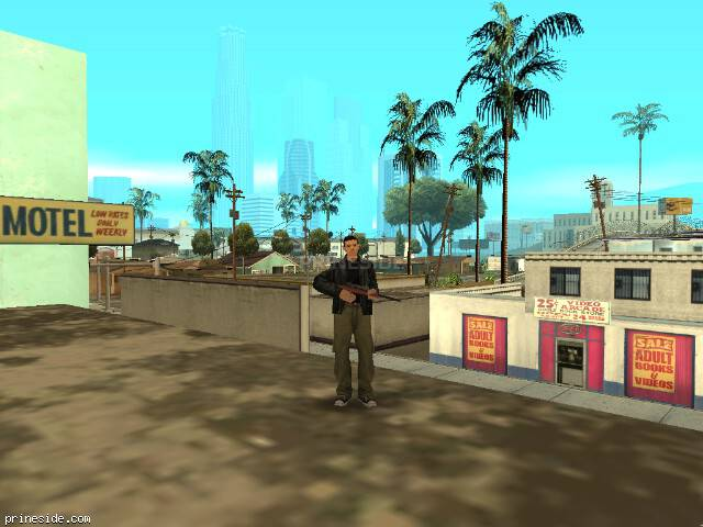 GTA San Andreas weather ID 1 at 16 hours