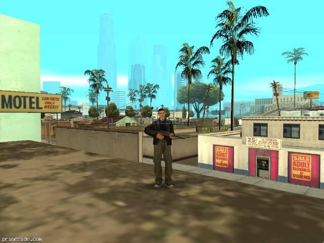 Просмотр погоды GTA San Andreas с ID 1 в 17 часов