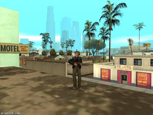 Просмотр погоды GTA San Andreas с ID 1 в 19 часов