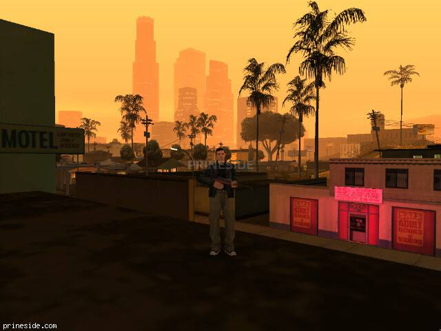 GTA San Andreas weather ID 1 at 21 hours
