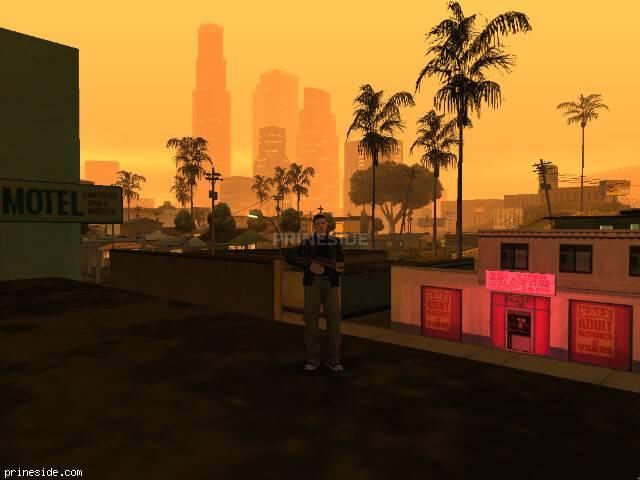 Просмотр погоды GTA San Andreas с ID 1 в 22 часов
