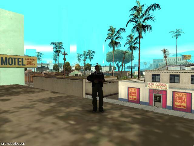 GTA San Andreas weather ID 1 at 7 hours
