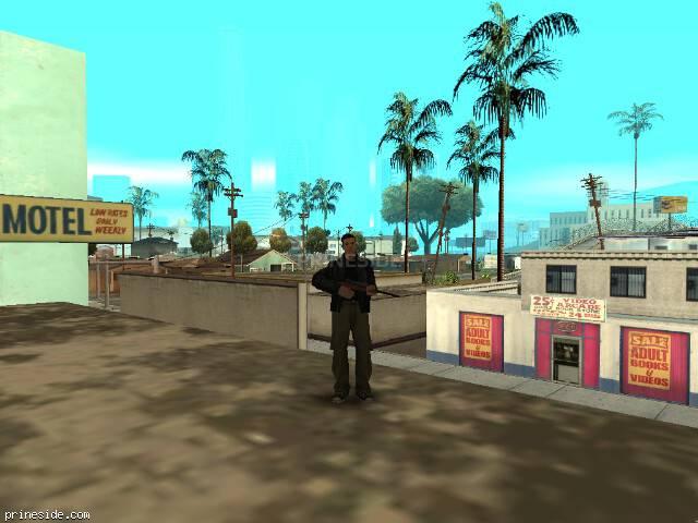 Просмотр погоды GTA San Andreas с ID 1 в 8 часов