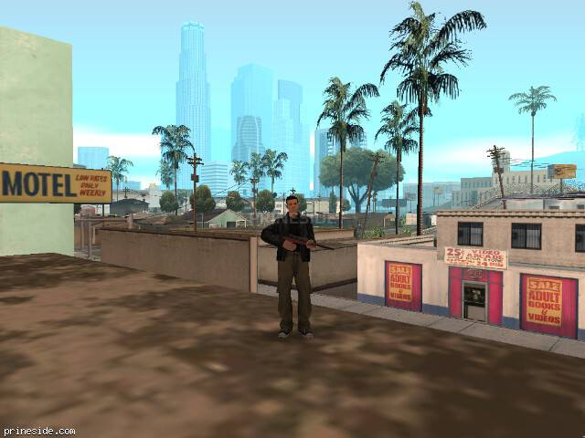 GTA San Andreas weather ID 522 at 17 hours