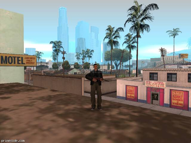 GTA San Andreas weather ID 266 at 19 hours
