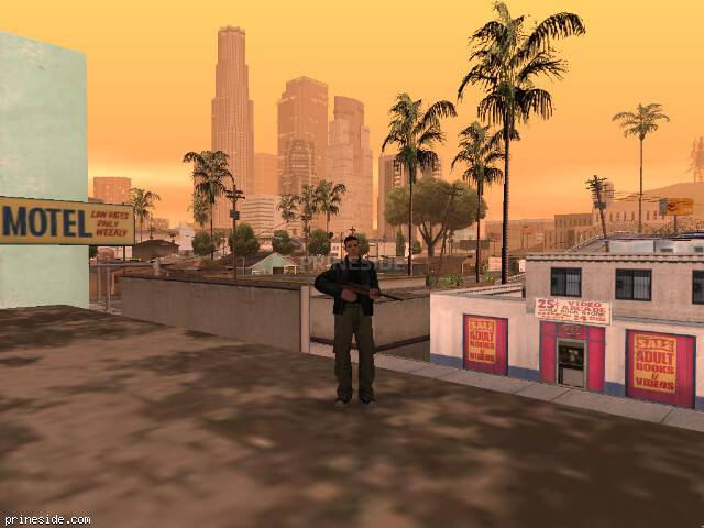 GTA San Andreas weather ID 522 at 20 hours