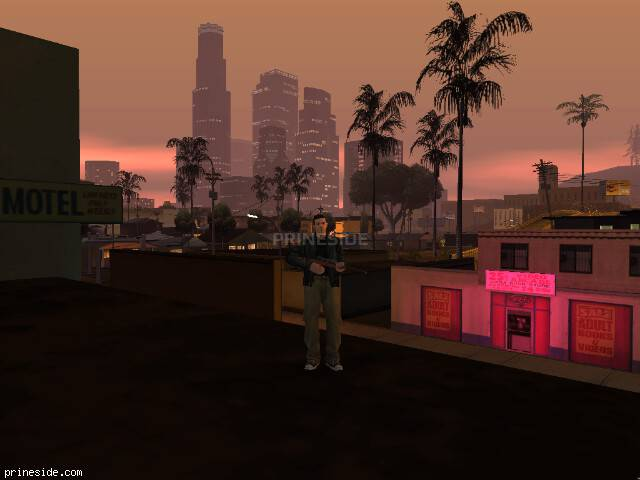 GTA San Andreas weather ID 522 at 21 hours