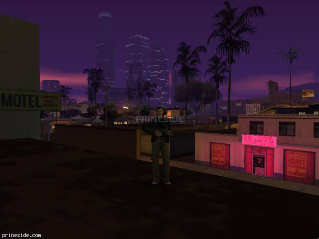 GTA San Andreas weather ID -758 at 22 hours