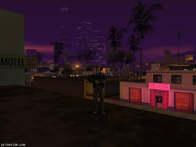 GTA San Andreas weather ID 1290 at 23 hours