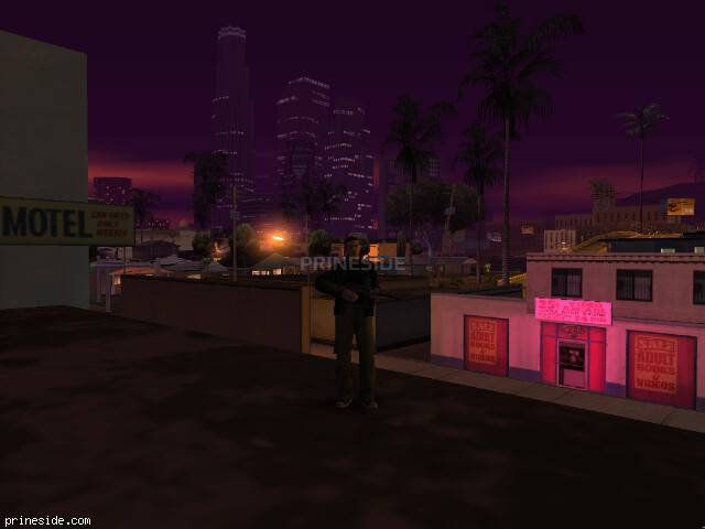GTA San Andreas weather ID 1034 at 3 hours