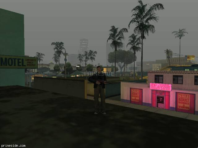 GTA San Andreas weather ID -412 at 0 hours