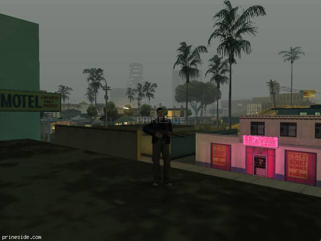 GTA San Andreas weather ID 100 at 2 hours