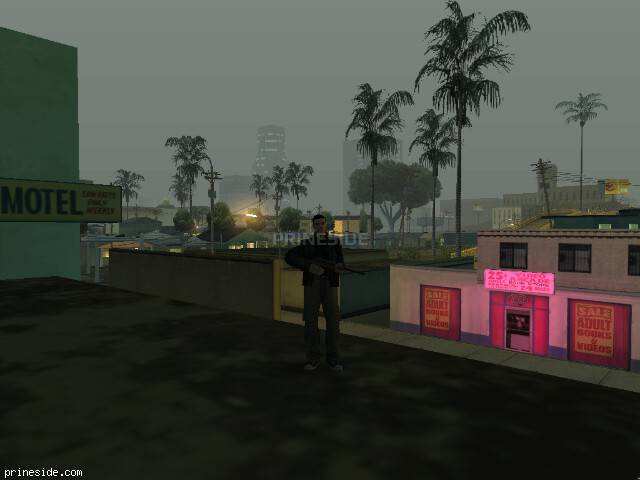 GTA San Andreas weather ID 100 at 4 hours