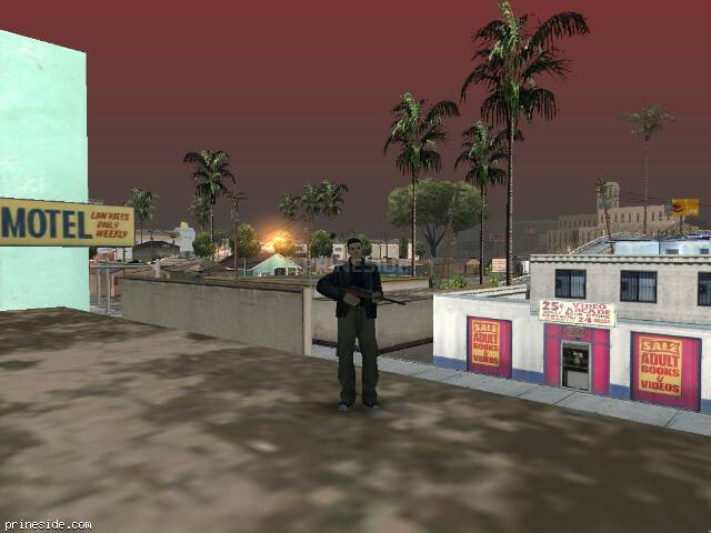 GTA San Andreas weather ID -156 at 8 hours