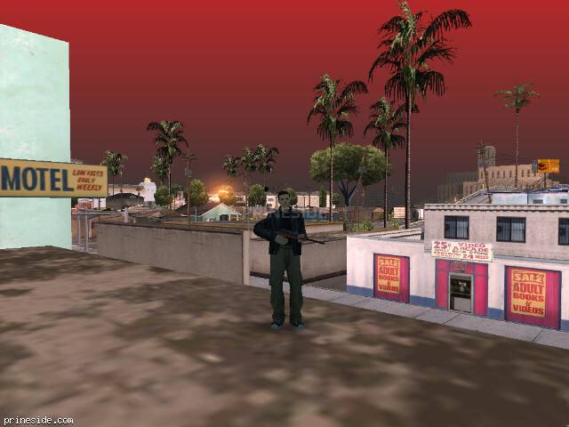 GTA San Andreas weather ID -412 at 9 hours