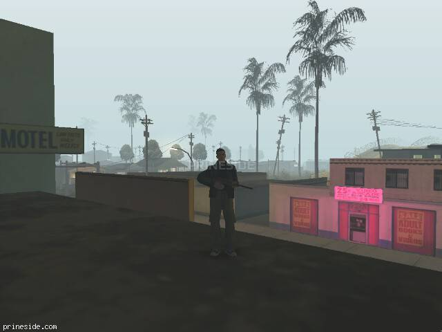 GTA San Andreas weather ID 101 at 1 hours