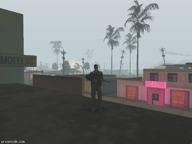 GTA San Andreas weather ID 613 at 2 hours