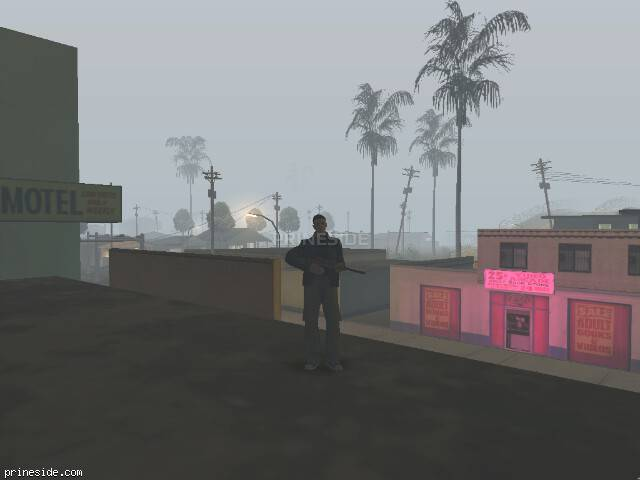 GTA San Andreas weather ID 101 at 3 hours
