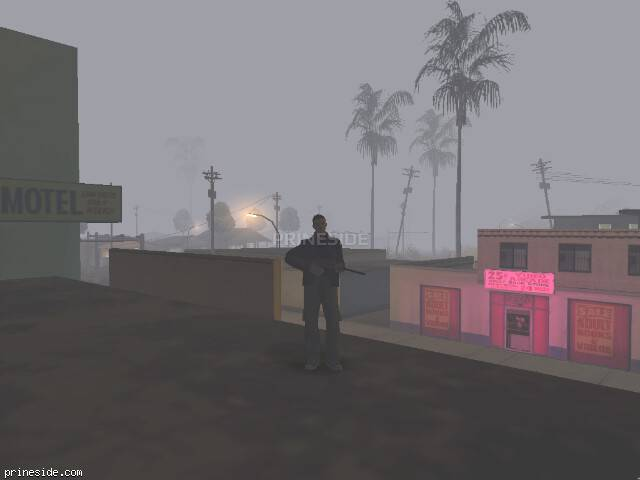 GTA San Andreas weather ID 1381 at 5 hours