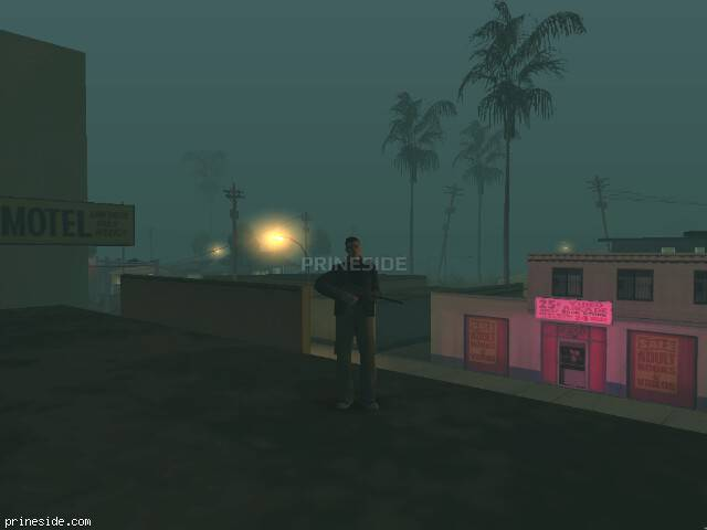 GTA San Andreas weather ID 101 at 6 hours