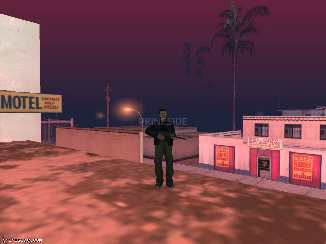 GTA San Andreas weather ID 101 at 9 hours