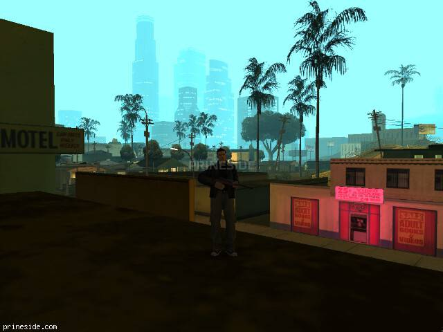 GTA San Andreas weather ID 102 at 0 hours