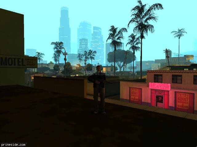 GTA San Andreas weather ID 102 at 2 hours